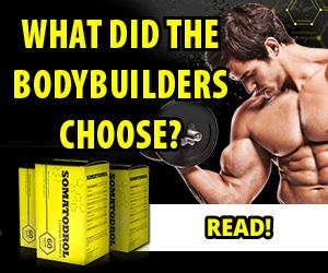 Somatodrol - bodybuilder