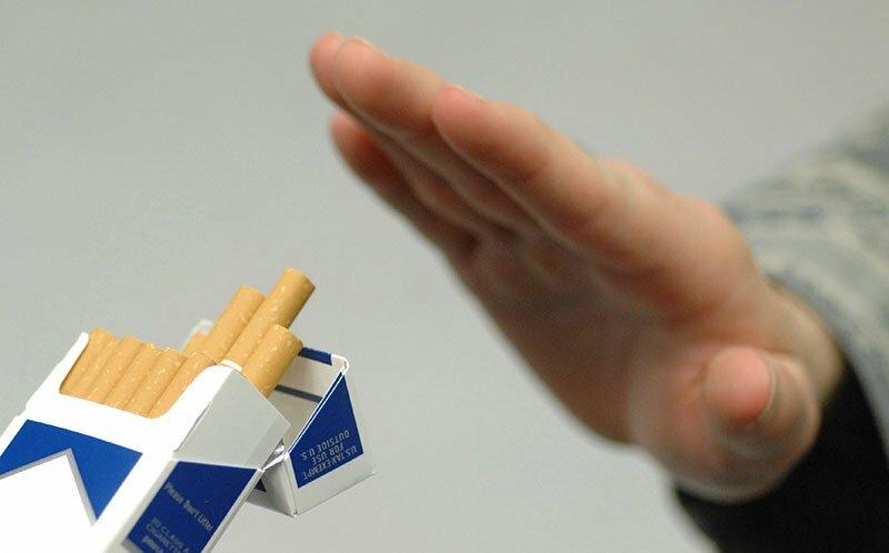 Afgiftning efter afslutning af cigaretrygning