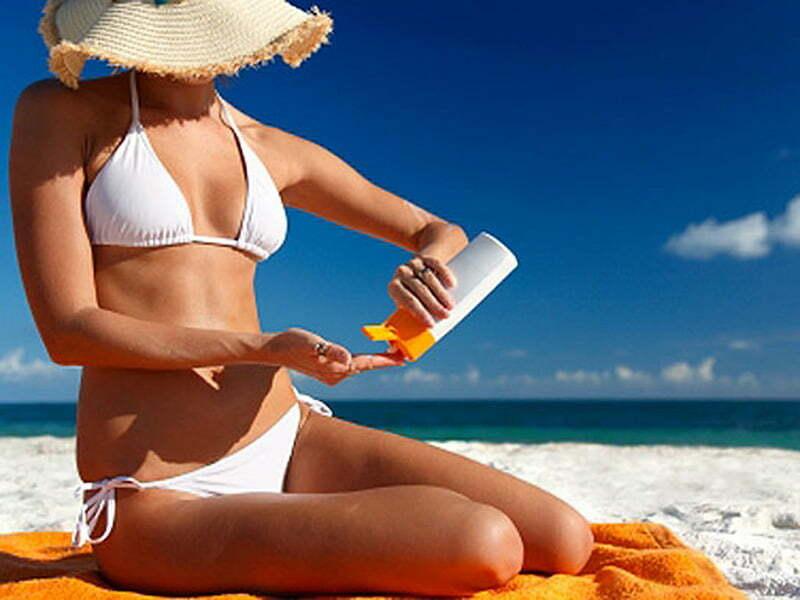 Types de peau, bloc-écran solaire et SPF