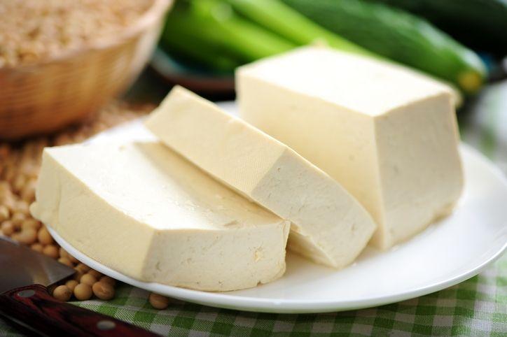 Valori di salute di piatti dal tofu