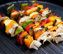 Healthy grilled meals