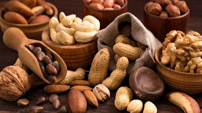 Польза для здоровья орехов