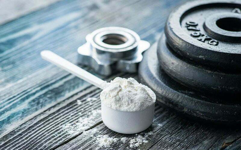 Suplementos para construir massa muscular