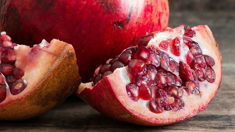 석류 열매는 죽상 경화증을 예방합니다.
