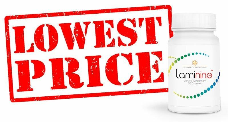 Laminine - η χαμηλότερη τιμή